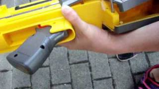 nerf deploy cs 6 taking apart and modification 1 of 4