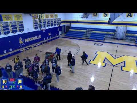 Manville vs. Delaware Valley Varsity Womens' Basketball