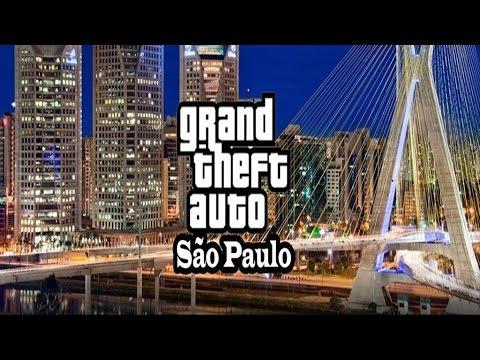 GTA SÃO PAULO + REMIX 2016 DEMONSTRAÇÃO DO PROGRESSO BETA FULL HD 1080
