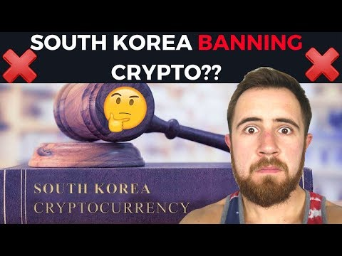 South Korea Banning Crypto Currency?? || South Korea FUD Spreading
