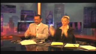 What News Anchors Do During Commercial Breaks w/sound