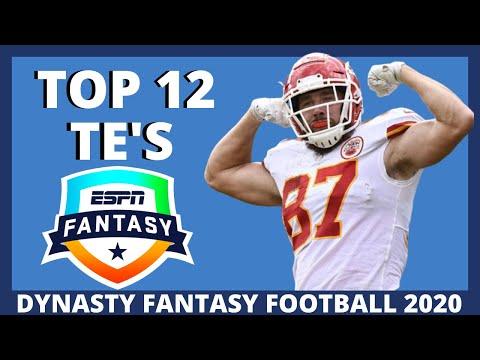 2020 Fantasy Football Dynasty: Top 12 Tight Ends (TE Rankings)