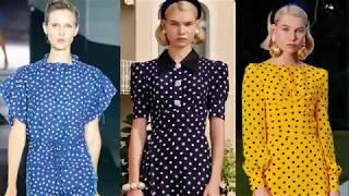 Современные модные тенденции и принты 2019