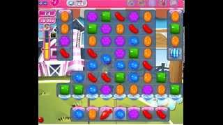 How to beat Candy Crush Saga Level 244 - 2 Stars - No Boosters - 69,780pts
