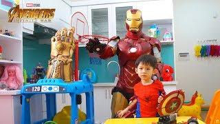 Xavi and Avengers Superhero Toys