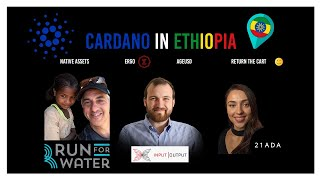 Cardano for the developing world with Charles Hoskinson & Peg Peters