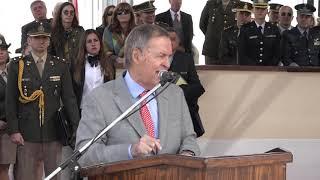 Schiaretti estuvo en el 75º aniversario del Liceo Militar General Paz