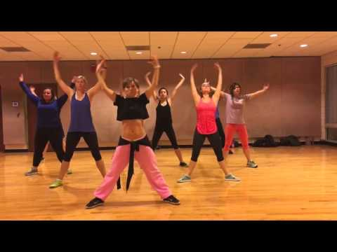 """ON THE FLOOR"" Jennifer Lopez - Dance Fitness Workout Valeo Club"