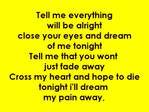 Just surrender-tell me everything lyrics