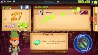 Fruit Ninja İphone Speed Full Review