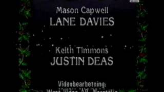 Santa Barbara Christmas Music - End Credits Christmas 1986