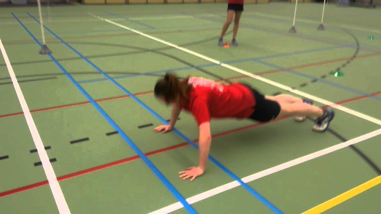 Voorkeur Warming-up exercise: Dopjesdans - YouTube @SU25