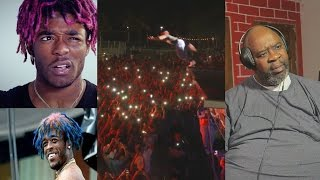 Dad Reacts to Lil Uzi Vert! - 20 FT JUMP INTO CROWD! (Do what I want,X0 Tour Life, & Money Longer)