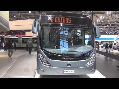 Volkswagen Volksbus 18.280 OT LE Marcopolo Bus (2017) Exterior and Interior in 3D