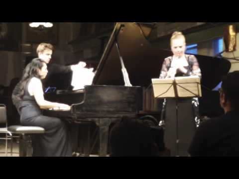 Viola Wilmsen & Kimiko Imani | Pavel Haas: Suite for Oboe and Piano