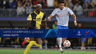 UEFA Champions League | Young Boys v Manchester United | Highlights