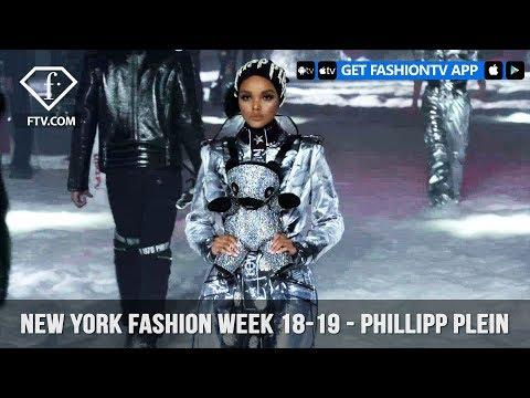 New York Fashion Week Fall/Winter 18 19 - Phillipp Plein Backstage | FashionTV | FTV