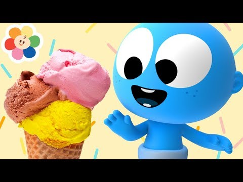 Learn Colors With My Color Friends Color Crew Goo Goo Educational Videos Babyfirst Tv Youtube