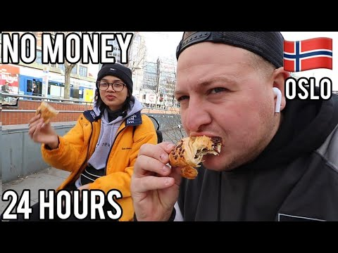 LIVING For FREE In Oslo, Norway For 24 HOURS Ft ClickForTaz