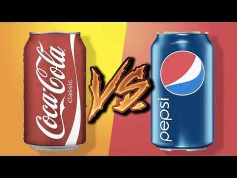 COCA-COLA vs PEPSI - czy odróżnisz?