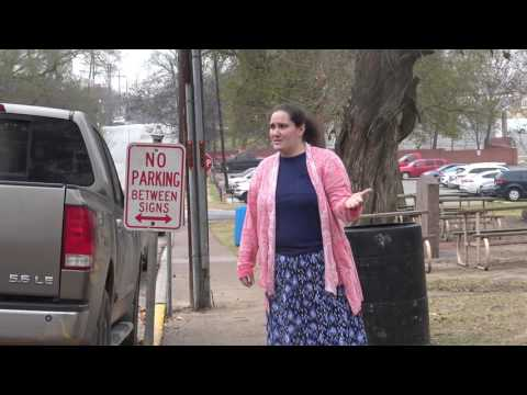 Huntsville Penitentiary Revisit W/News Now Houston-Clueless Lady Doesn't Know Rights