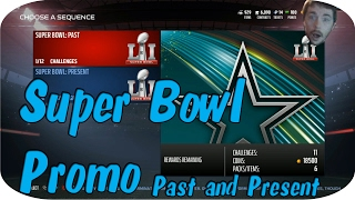 Madden NFL 17 Ultimate Team - Super Bowl Past and Present Promo Overview
