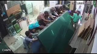 Accidente Laboral - Atrapamiento de Trabajadores
