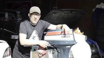 Yamaha 9.9/15D perän korjaus / huolto (gearbox) vaihteisto