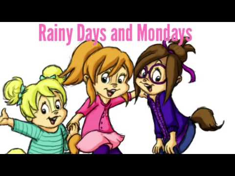 The Chipettes: Rainy Days and Monday's by The Carpenters