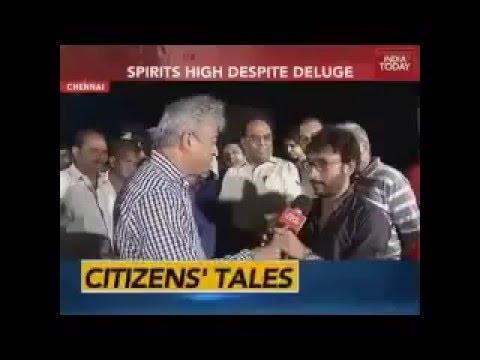 RJ Balaji Slaps National Media - With Rajdeep