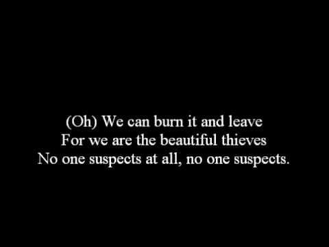 AFI-Beautiful Thieves Lyrics