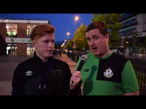 Fan Cams, Reactions and Highlights | Shamrock Rovers vs St. Pats - Dublin Derby Part 1
