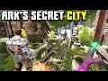 ARK HAS A SECRET CITY AND ITS AMAZING !! | ARK SURVIVAL EVOLVED GENESIS MAP