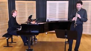 Baermann adagio for clarinet