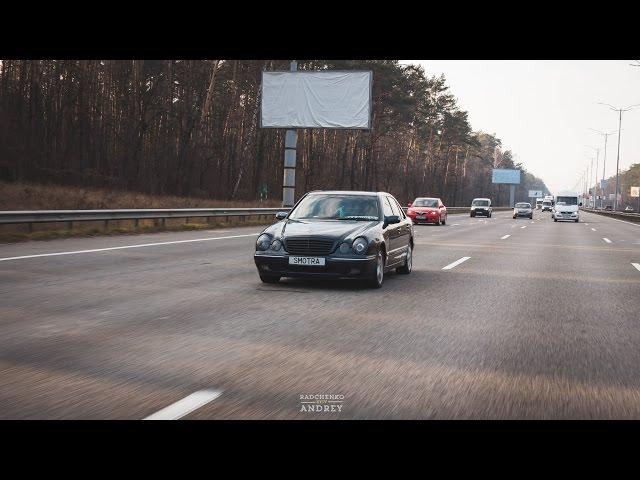 Тест-Драйв Mercedes W210 E430 (Легенды 90х - PRO100Drive)