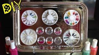 Diy $5 Nail Art Storage || Lucykiins