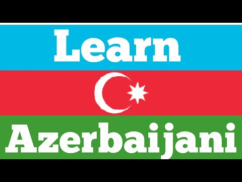 Learn 8 hours Azerbaijani - without music //