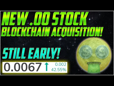 I BOUGHT MORE of THIS $0.00 BlockChain Penny Stock! – Below a Penny Stock