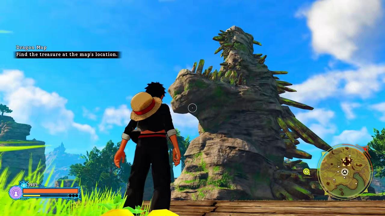 Dragon Map   One Piece World Seeker Game Walkthrough
