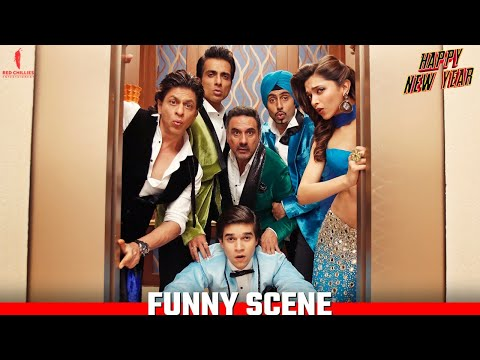 Not A Word Guys | Happy New Year Scenes | Shah Rukh Khan, Deepika Padukone