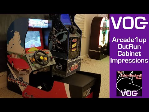 Arcade1up OutRun Build and Gameplay Impressions from Voice of Geeks Network