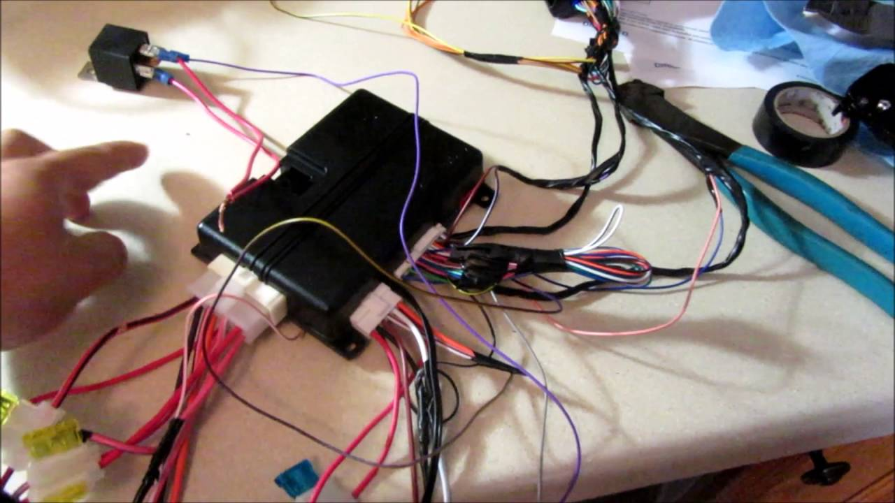 2012 Scion Tc Remote Start Installation Viper 4806v Dball2 Part 1 2009 Toyota Xb Wiring Diagrams Of 2