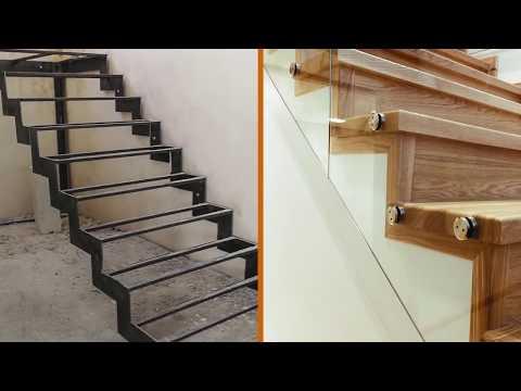 Металлические каркасы для лестниц