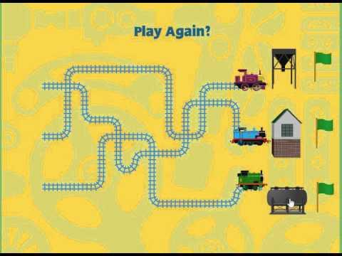 Thomas The Tank Engine Thomas Railway Game NickJr YouTube