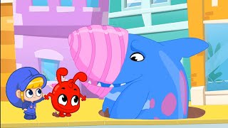 Land Shark ATTACK! + More Adventures   Kids Cartoons   Mila and Morphle Official