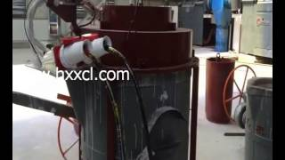 HXS Newly Patented Automatically Electrical Heating Machine For Steel Ladle And Induction Furnace