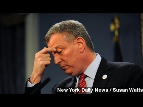 De Blasio's Motorcade Caught Speeding, Running Stop Signs