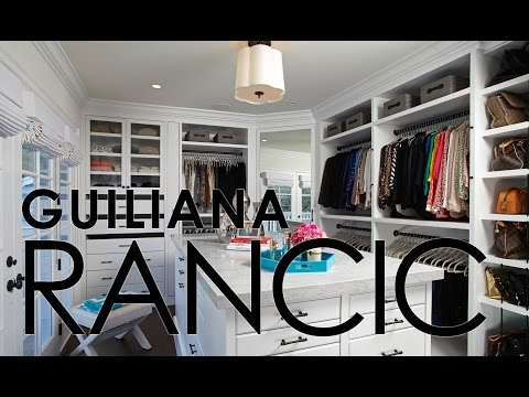 Celebrity Closets with Lisa Adams / Guiliana Rancic closet slideshow