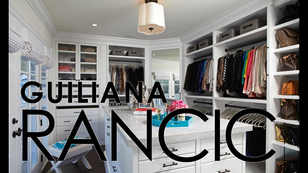 Celebrity Closets With Lisa Adams Guiliana Rancic Closet Slideshow