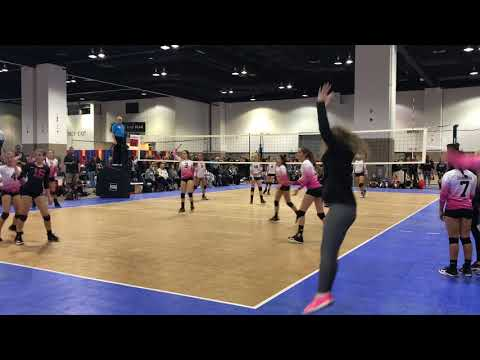 2018 PBJ13Elite vs Club V 13 Set 2: Colorado